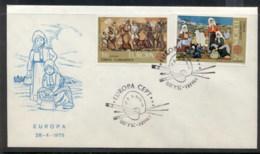 Turkey 1975 Europa Paintings FDC - 1921-... Republic