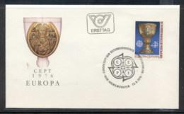 Austria 1976 Europa Pottery FDC - FDC