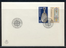 Sweden 1976 Europa Pottery FDC - FDC