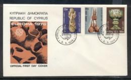 Cyprus 1976 Europa Pottery FDC - Cyprus (Republic)