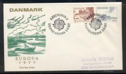 Denmark 1977 Europa Landscapes FDC - FDC