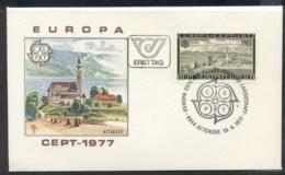 Austria 1977 Europa Landscapes FDC - FDC