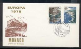 Monaco 1978 Europa Architecture FDC - FDC