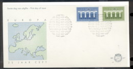 Nederland 1984 Europa Bridge FDC - FDC