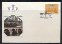 Portugal 1984 Europa Bridge FDC - FDC