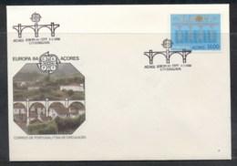 Azores 1984 Europa Bridge FDC - Azores