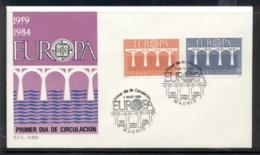 Spain 1984 Europa Bridge FDC - FDC