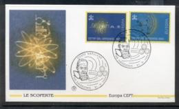 Vatican 1994 Europa Scientific Discoveries FDC - FDC