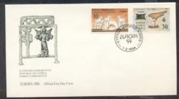 Cyprus 1994 Europa Scientific Discoveries FDC - Cyprus (Republic)