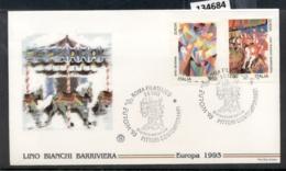 Italy 1993 Europa Modern Art FDC - 6. 1946-.. Republic
