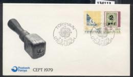 Faroe Is 1979 Europa Communications FDC - Faroe Islands