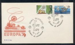 Italy 1979 Europa Communications FDC - 6. 1946-.. Republic