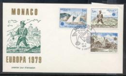 Monaco 1979 Europa Communications FDC - FDC