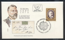 Austria 1979 Europa Communications FDC - FDC