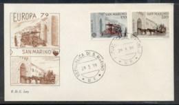 San Marino 1979 Europa Communications FDC - FDC