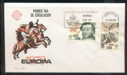 Spain 1979 Europa Communications FDC - FDC
