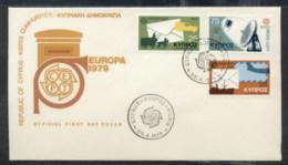 Cyprus 1979 Europa Communications FDC - Cyprus (Republic)