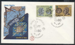 Italy 1980 Europa Celebrities FDC - 6. 1946-.. Republic