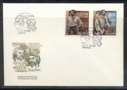 Portugal 1980 Europa Celebrities FDC - FDC