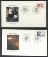 Denmark 1981 Europa Folklore 2x FDC - FDC