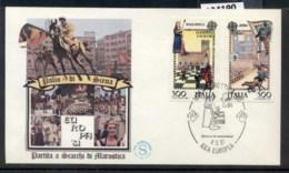 Italy 1981 Europa Folklore FDC - 6. 1946-.. Republic