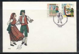 Portugal 1981 Europa Folklore FDC - FDC