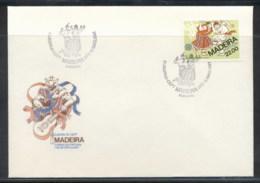 Madeira 1981 Europa Folklore FDC - Madeira