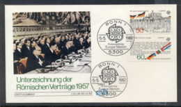 Germany 1982 Europa History FDC - [7] Federal Republic