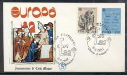 Italy 1982 Europa History FDC - 6. 1946-.. Republic