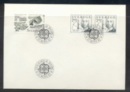 Sweden 1982 Europa History FDC - FDC