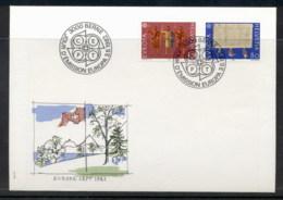 Switzerland 1982 Europa History FDC - FDC