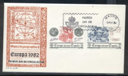Spain 1982 Europa History FDC - FDC