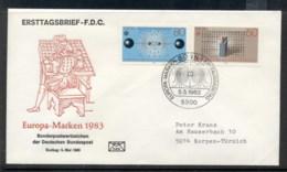 Germany 1983 Europa Human Genius FDC - [7] Federal Republic