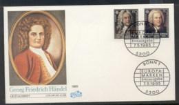Germany 1985 Europa Music Year FDC - [7] Federal Republic