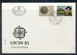 Yugoslavia 1983 Europa Human Genius FDC - FDC