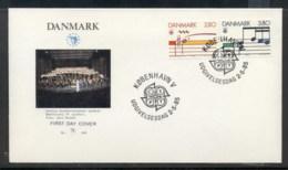 Denmark 1985 Europa Music Year FDC - FDC