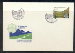 Madeira 1983 Europa Human Genius FDC - Madeira