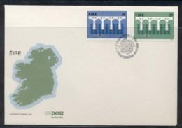 Ireland 1984 Europa Bridge FDC - FDC