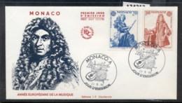Monaco 1985 Europa Music Year FDC - FDC