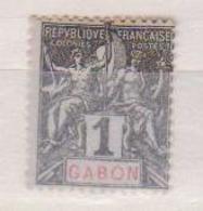 GABON    N°  YVERT  :   16     NEUF AVEC  CHARNIERES      ( Ch  2/08  ) - Unused Stamps