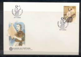 Portugal 1985 Europa Music Year FDC - FDC