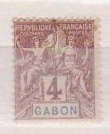 GABON    N°  YVERT  :   18     NEUF AVEC  CHARNIERES      ( Ch  2/08  ) - Unused Stamps