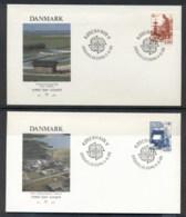 Denmark 1986 Europa Environment 2x FDC - FDC
