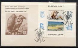 Cyprus Turkish 1986 Europa Environment MS FDC - Cyprus (Turkey)