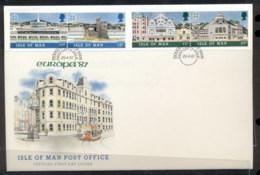 Isle Of Man 1987 Europa Architecture FDC - Isle Of Man
