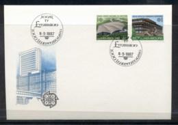 Luxembourg 1987 Europa Architecture FDC - FDC