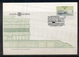 Madeira 1987 Europa Architecture FDC - Madeira