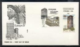 Spain 1987 Europa Architecture FDC - FDC
