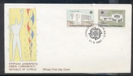 Cyprus 1987 Europa Architecture FDC - Cyprus (Republic)