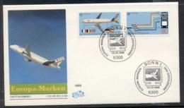 Germany 1988 Europa Transport & Communication FDC - [7] Federal Republic